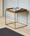 Tray Table toffee_Tapis chestnut and blue_.jpg