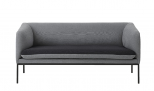 Ferm Living 2-kolorowa sofa Turn / 2-osobowa / Cotton