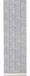 Ferm Living tapeta Herringbone Wallpaper