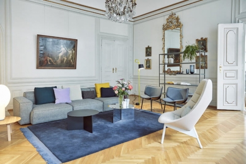 MUUTO stół 70/70- 170x85cm, blat laminat lub linoleum